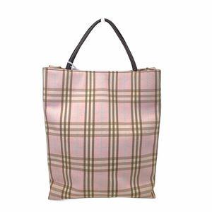 Burberry Satchel bag Pink Fabric london